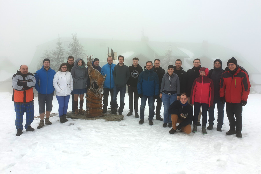 CRoCS lab offsite 2020, Šerák
